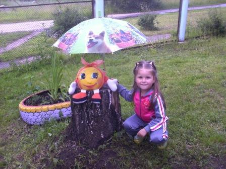 Как сделать колобка для сада